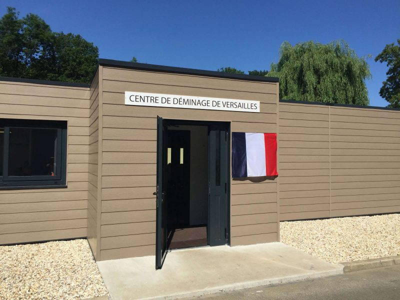 Centre deminage modulaire Marly Le Roi