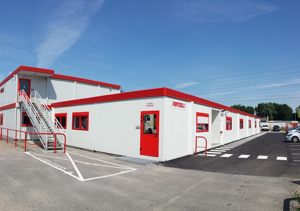Agence modulaire Ponticelli