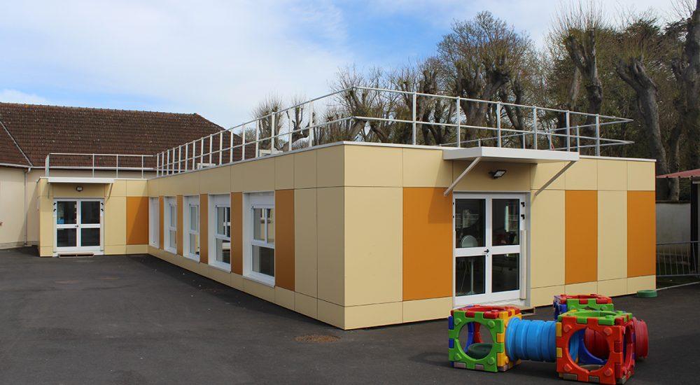 Restaurant scolaire modulaire Villeron 001