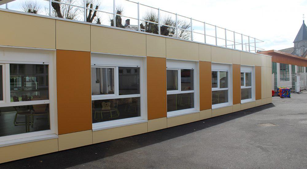 Restaurant scolaire modulaire Villeron 003