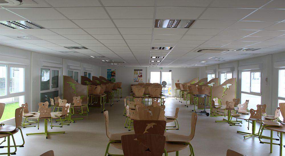 Restaurant scolaire modulaire Villeron