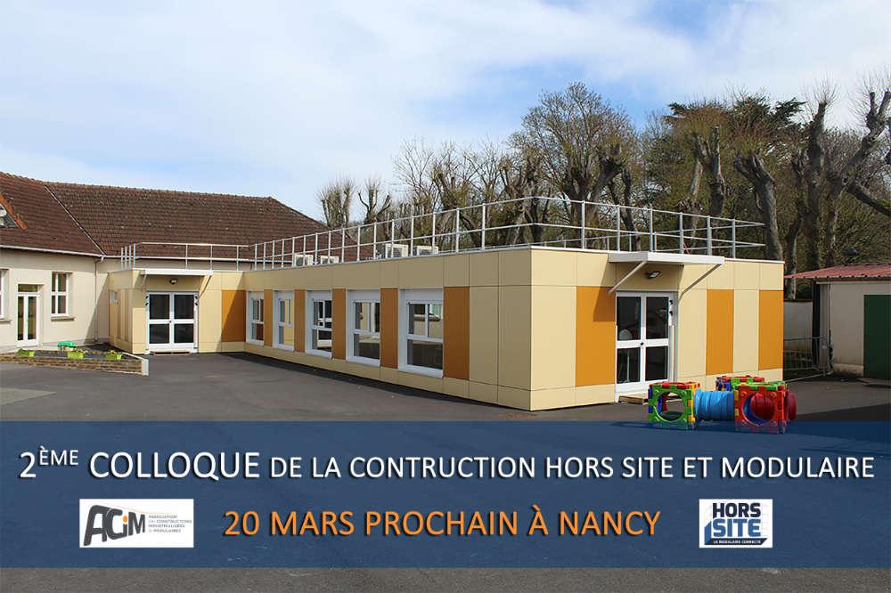 colloque construction modulaire