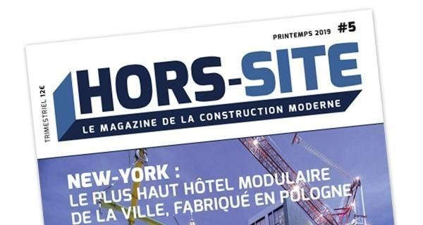 magazine construction Hors site